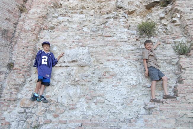 La Rocca ruins