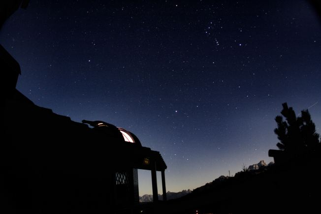 Col Druscie Observatory (Photo courtesy of Alessandro Dimai http://www.cortinastelle.it/)