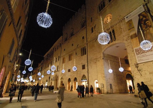 A view down Corso Vanucci