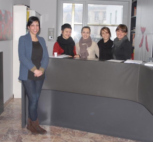 Teachers and staff at Comitato Linguistico: