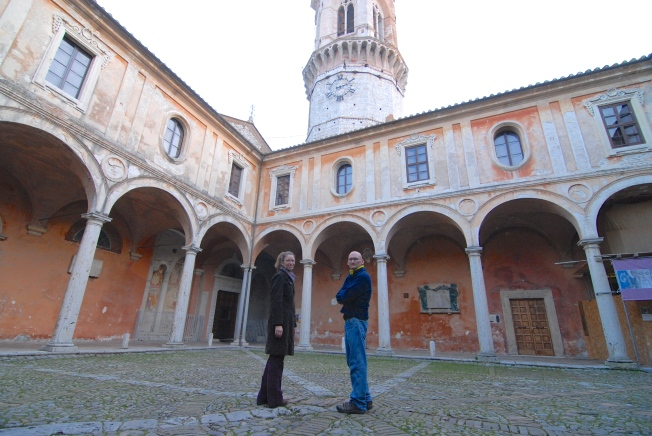 An afternoon at Perugia's San Pietro Cathedral and medieval gardens