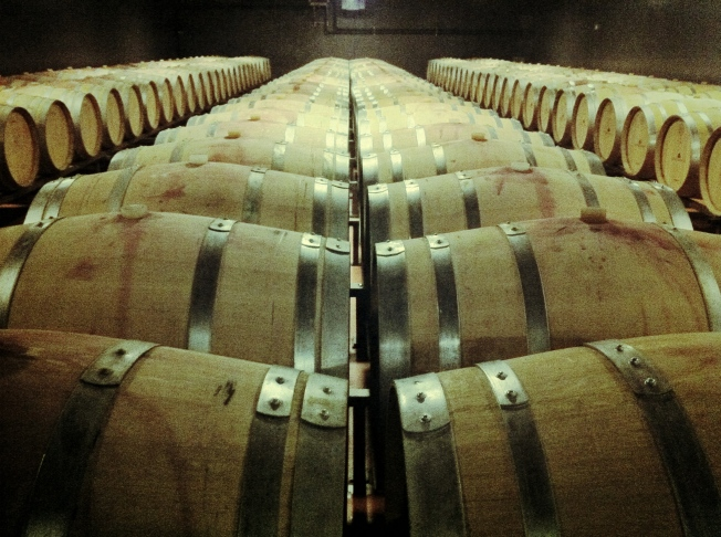 Lungarotti Vineyards produce two and a half million bottles a year.