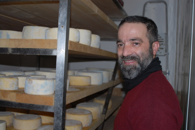 The cheese cellar
