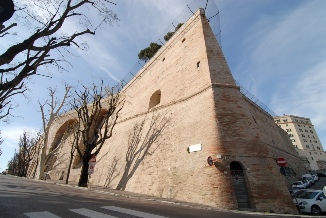 A corner of the Rocca Paolina
