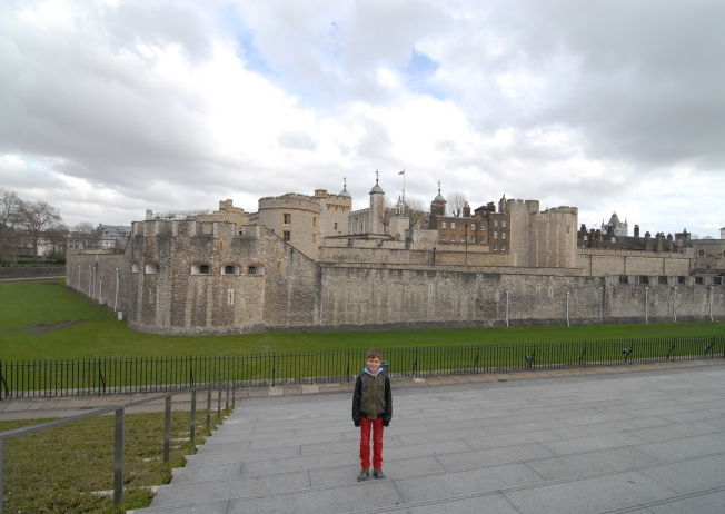 Ray and the Tower of London