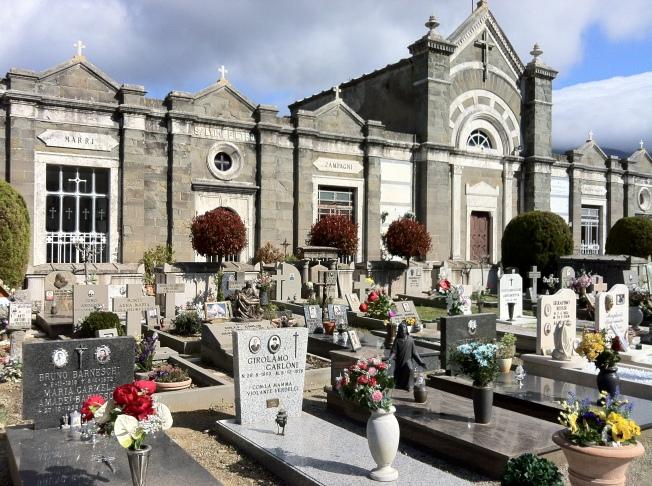 The graveyard of Cortona